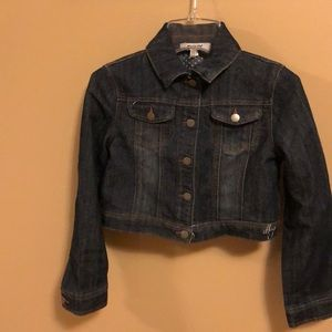 Girls dkny great condition denim jacket